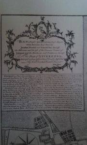 """This plan of Liverpool, Surrvey'd in June 1765 is Most Humbly Inscribed..."""